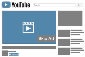 illustration of skippable in-stream ads